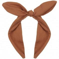Serre-tête noeud marron Coco