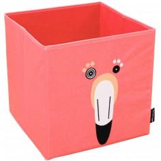 Bac de rangement Flamingos le flamant rose