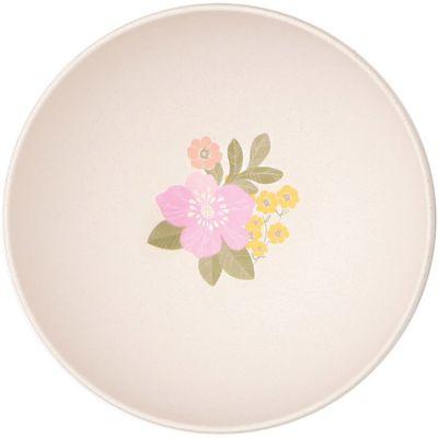 Petit bol en bambou Fleurs (13,8 cm) Love Maé