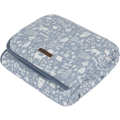 Couverture bébé pure & soft Adventure blue (70 x 100 cm)  par Little Dutch