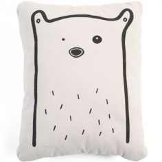 Coussin ours (28 x 35 cm)
