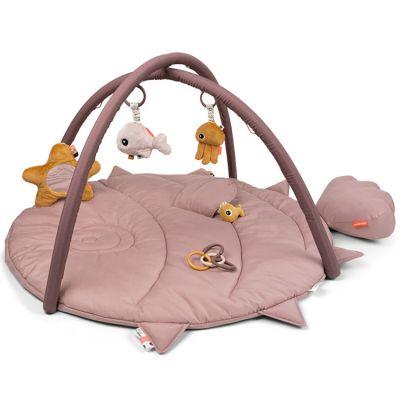 Tapis d'éveil avec arches rose Sea friends  par Done by Deer