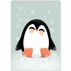 Carte A6 Les Animignons le pingouin