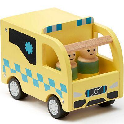 Ambulance en bois Aiden  par Kid's Concept