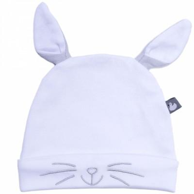 Bonnet en coton Lapin  par BB & Co