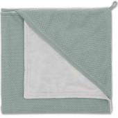 Cape de bain Classic gris vert (80 x 80 cm) - Baby's Only