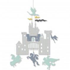 Mini mobile Château et dragons Arthur