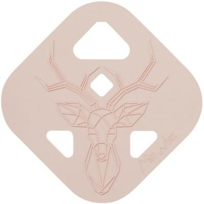 Anneau de dentition  Cerf rose poudré  par MintyWendy