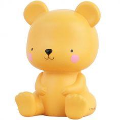 Petite veilleuse ours caramel (13 cm)