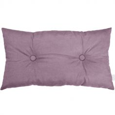 Coussin rectangle violet (35 x 60 cm)
