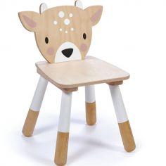 Chaise enfant cerf en bois