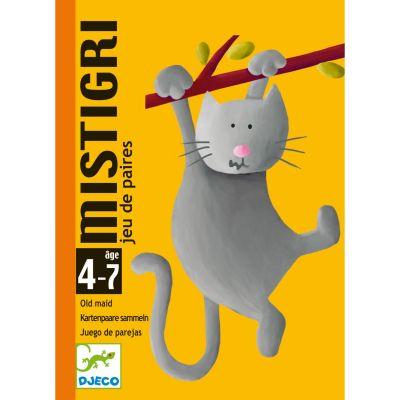 Jeu de cartes Mistigri (33 cartes)  par Djeco