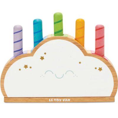 Jeu à encastrer Nuage arc-en-ciel Petilou  par Le Toy Van