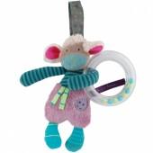 Hochet anneau à suspendre mouton Les jolis pas beaux - Moulin Roty