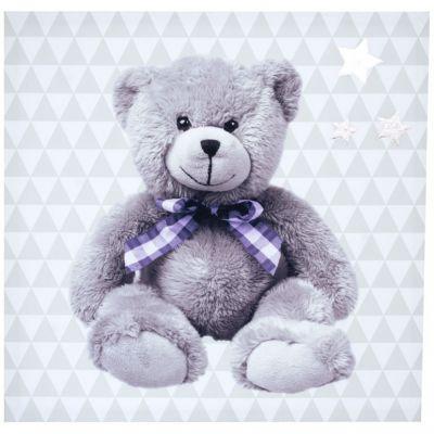 Toile lumineuse My Little Bear (30 x 30 cm) Domiva