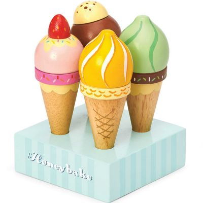 Crèmes glacées en bois Honeybake  par Le Toy Van