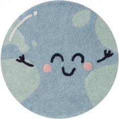 Tapis rond Terre Big Big World Mr. Wonderful (100 cm)