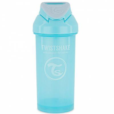 Gourde à paille bleu pastel (360 ml)  par Twistshake