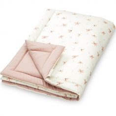 Couverture douce Windflower Creme (90 x 120 cm)