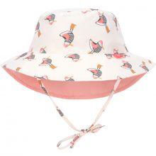 Chapeau anti-UV réversible Mme Mouette rose (3-6 mois)  par Lässig