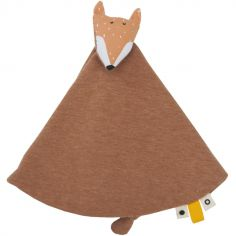 Doudou plat renard Mr. Fox