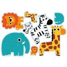 Mes premiers puzzles 'Dans la jungle'  par Djeco
