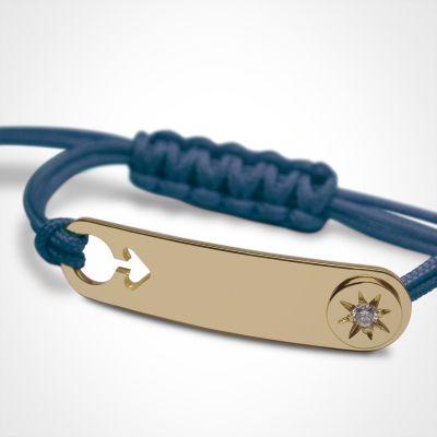 Bracelet I am a Star Garçon (or jaune 750°)  par Mikado