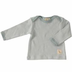 Tee-shirt Stripe Turquoise (6-12 mois : 77 cm)