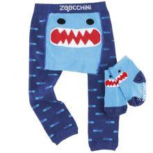 Legging et chaussettes Sherman le requin (12-18 mois)  par Zoocchini