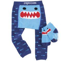 Legging et chaussettes Sherman le requin (12-18 mois)