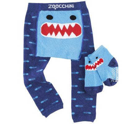 Legging et chaussettes Sherman le requin (12-18 mois) Zoocchini