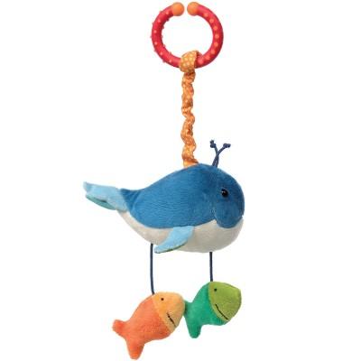Baleine d'activités vibrante à suspendre PlayQ  par Sigikid