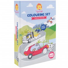 Kit de coloriage Voitures et camions