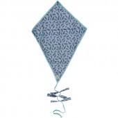 Tapis à langer cerf-volant Plumes éponge glacier - Les Petits Vintage