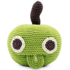 Hochet Newton la pomme (13 cm)
