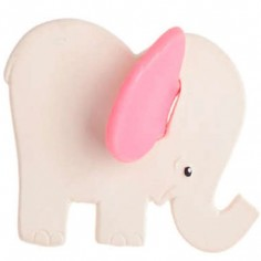 Elephant rose latex d'hévéa