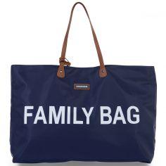 Sac à anses Family bag bleu marine