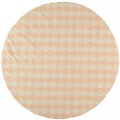 Tapis de parc softy pixar gris pingu 100 x 100 cm bemini Tapis rose clair