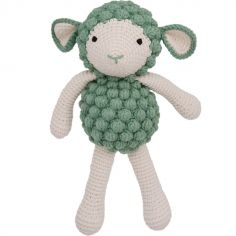 Peluche mouton vert (30 cm)