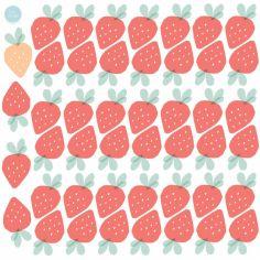 Stickers Fraises (modèle intermédiaire)