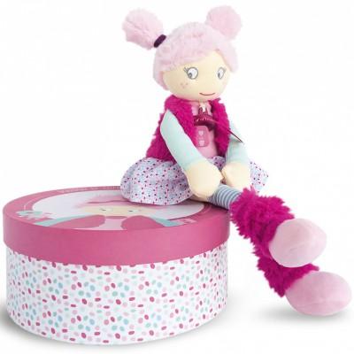 poupée souple Demoiselle Wiiizzz Jeanne (40 cm) Doudou et Compagnie