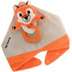 Ensemble de dentition avec bavoir, jouet et anneau Felix le renard