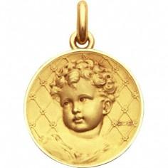 Médaille Bébé Becker (or jaune 750°)