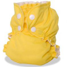 Couche lavable TE2 Tout En 2 Zeste de citron (Taille 2 : 8 à 16 kg)
