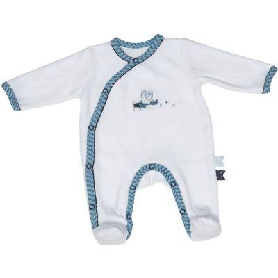 Pyjama chaud ours Lazare (3 mois)  par Sauthon