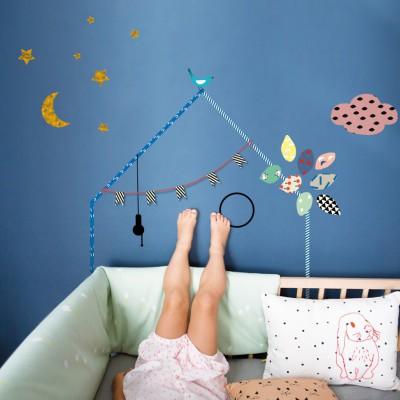 Sticker mural Ma petite maison  par Mimi'lou