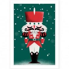 Affiche A3 Noël Casse-Noisette