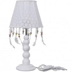 Abat-jour pour lampe de chevet Crochet perles