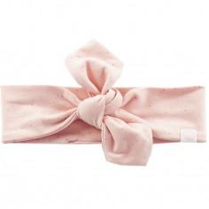 Bandeau bébé Mini Dots rose