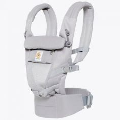 Porte-bébé Adapt Cool Air Mesh gris clair